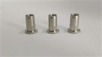 Evolution Import 3 Pack 10mm Long Round Rivet Nut
