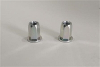 Evolution Import 2 Pack 10mm Hexagon Rivet Nuts