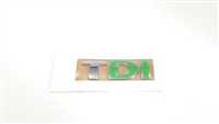 Evolution Import TDI Badge Green (DI)